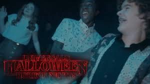Stranger Things Cast Checks Out Their Maze at <b>Halloween Horror</b> ...