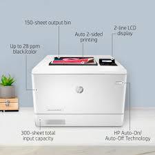 <b>HP LaserJet Pro</b> M454dn Network <b>Color Laser</b> Printer with Duplexing