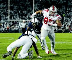 galion inquirer second half miscues lead to ohio state loss at ohio state s marcus baugh 85 runs in for a touchdown after a catch against