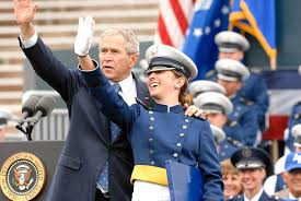 u s department of defense photo essay president george w bush waves to the family of u s air force 2nd lt