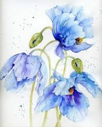 Himalayan Poppies | 80 pieces <b>jigsaw puzzle</b> | <b>Floral</b> watercolor ...