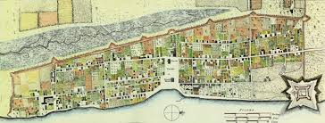 the british invasion part two the florida memory blog a new and accurate plan of the town of st ine by