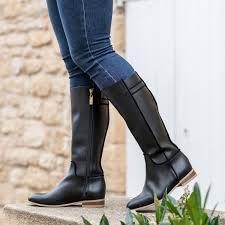 Vegan and ecofriendly woman boots - Minuit sur Terre vegan shoes