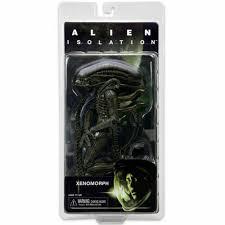 <b>NECA Aliens</b> Series 6 Isolation Xenomorph Action <b>Figure</b> 7in Scale ...