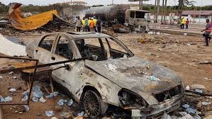 Ghana: Grief and <b>anger</b> after deadly gas <b>station</b> blasts | Ghana | Al ...