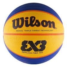 <b>Мяч баскетбольный WILSON</b> FIBA3x3 Replica, размер 6, сине ...