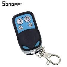 <b>SONOFF</b> 433mhz <b>4 Buttons</b> Channel RF <b>Wifi Wireless</b> Remote Key ...