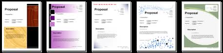 Proposal Software from Proposal Kit: Title Page Pack Volume #1 Title Page Pack Volume #1