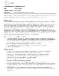office assistant job description resume 2016 picture gallery of office assistant job description resume 2016