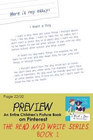 images about i want a dog on pinterest  my opinions  mentor essay this essay works as a model or mentor essay for kids it