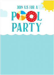pool party invitations com pool party invitations as party invitation templates for you 569