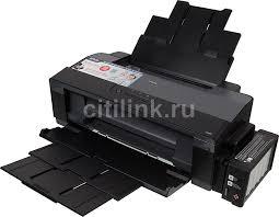 Купить <b>Принтер</b> струйный <b>EPSON L1300</b>, цвет: черный в ...