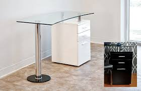 formidable glass top office desk creative home remodeling ideas adorable glass top office