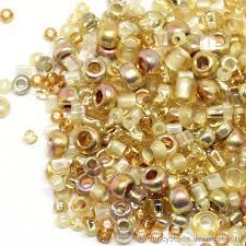 Бисер Микс TOHO <b>№3206 золотой</b> Японский <b>бисер TOHO</b> Beads ...