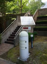 photo essay research in fukushima macromd a radiation air dose monitor on the fukushima medical university campus the prefectural government installed these monitors at many schools universities