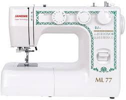 <b>Швейная машина JANOME ML 77</b> белый, отзывы владельцев в ...