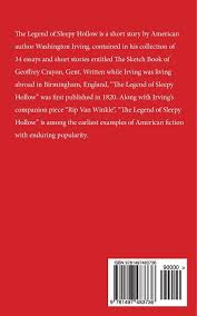 the legend of sleepy hollow washington irving 9781497483736 the legend of sleepy hollow washington irving 9781497483736 amazon com books