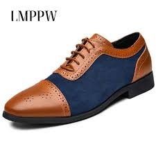 <b>British Style Men Leather</b> Casual Shoes New 2019 Men Oxford ...