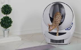 Автоматический <b>туалет</b> для кошек и котов: как работает умный ...