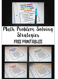 math problem solving strategies teaching to inspire math problem solving strategies