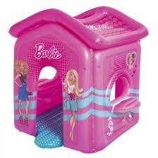 <b>Надувной</b> домик для <b>игр Bestway</b> 150 х 135 х 142 см Barbie ...
