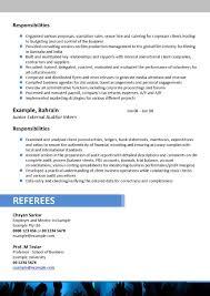 Chronological Resume Samples   Writing Guide