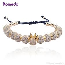 <b>Hot Sale Classical</b> Handmade Braiding Bracelet Gold Hip Hop <b>Men</b> ...