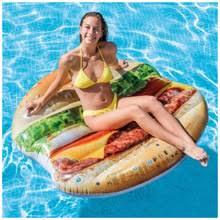 <b>Надувной</b> плот Бургер 145х142см 58780 Intex - купить недорого в ...