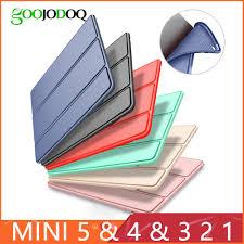 <b>Case for</b> iPad Mini 4 3 2 1 <b>Case PU</b> Leather Silicone Soft Back ...
