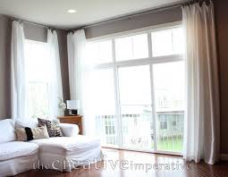 decorative window treatments french doors