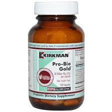 Пробиотики, <b>Pro</b>-<b>Bio Gold</b>, Hypoallergenic, для аллергиков ...