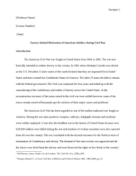 analyse and assess the factors behind the motivation of american    analyse and assess the factors behind the motivation of american  iers in the civil war  undergraduate  essay