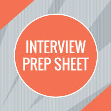 interview prep sheet she leads africa