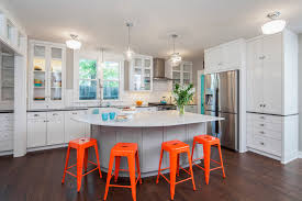 craftsman revived example of a mid sized transitional l shaped kitchen design in austin with a ceiling lighting kitchen contemporary pinterest lamps transparent