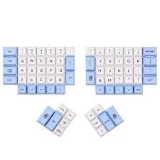 <b>ergodox pbt keycaps</b> dsa <b>pbt</b> blank <b>keycaps</b> for <b>ergodox</b> mechanical ...