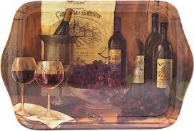 """<b>Поднос</b> сервировочный <b>Gift'n'Home</b> """"<b>Винтажные вина</b>"""", 21 х 14 см ..."""
