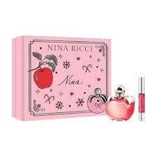 <b>Подарочный набор</b> Nina (Туалетная вода 50мл+<b>Помада</b> для губ ...
