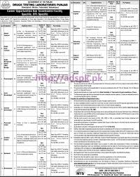 nts new career jobs drugs testing laboratories punjab test nts new career jobs drugs testing laboratories punjab test syllabus paper jobs for director technical deputy