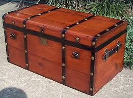 Image result for images vintage steamer trunks