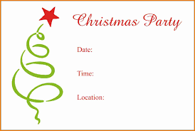9 printable christmas party invitations templates budget 9 printable christmas party invitations templates