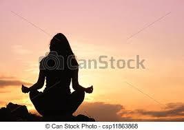 Resultado de imagem para uma foto meditando na vida