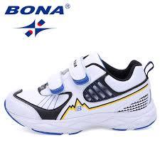 <b>BONA New Fashion Style</b> Boys Sneakers Hook & Loop Children ...