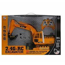 RC EXCAVATOR <b>2.4G</b> (RECHARGEABLE) | Shopee Malaysia