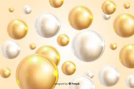 Реалистичный дизайн течет фон глянцевые шары   Бесплатно ...