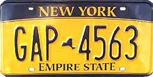 Vehicle registration plates of <b>New</b> York - Wikipedia