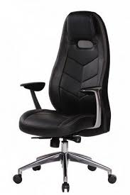 office chair in genuine leather in black with chrome base aspera 10 executive office nappa leather brown