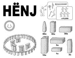 ikea henj 8 step diy instruction manual for stonehenge assembling ikea chair