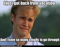 Back to work and I already need a vacation from my vacation! | The ... via Relatably.com