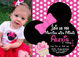 minnie mouse birthday invitations templates ideas all minnie mouse birthday invitations digital