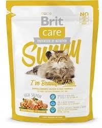 <b>Сухой корм Brit Care</b> Cat Sunny Beautiful Hair для ухода за кожей ...